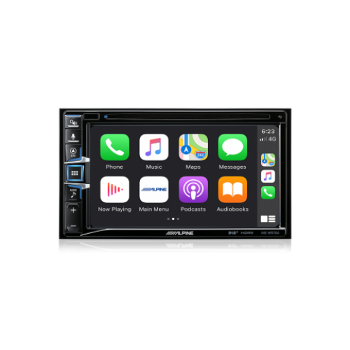 "Alpine INE-W970A 6.5"" Apple CarPlay / Android Auto / Navigation / CD/DVD Receiver /HDMI / Dual USB / Bluetooth / FLAC / DAB+ Receiver"