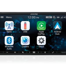 "Alpine iLX-W650E 7"" Apple CarPlay / Android Auto / FLAC / MP3 / WMA / AAC / Bluetooth"