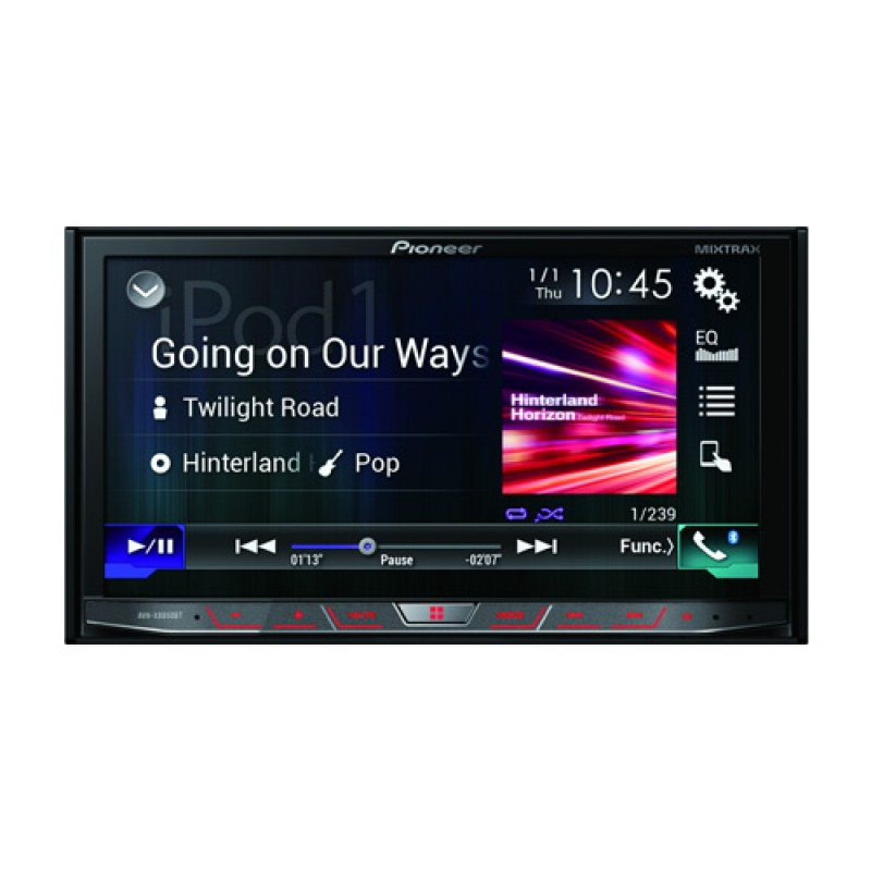 pioneer 8vhx8850bt carplay android auto receiver. Black Bedroom Furniture Sets. Home Design Ideas