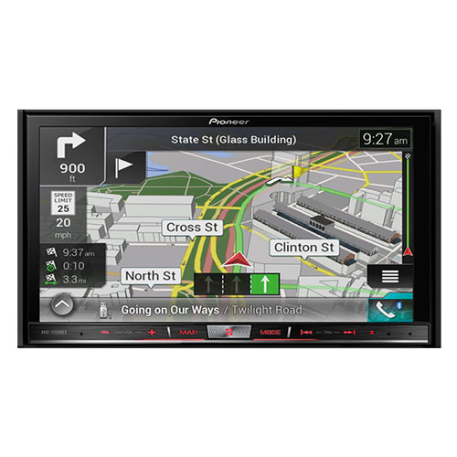 "Pioneer AVIC-F80DAB 7""Premium Navigation System with Apple Carplay and Android Auto"