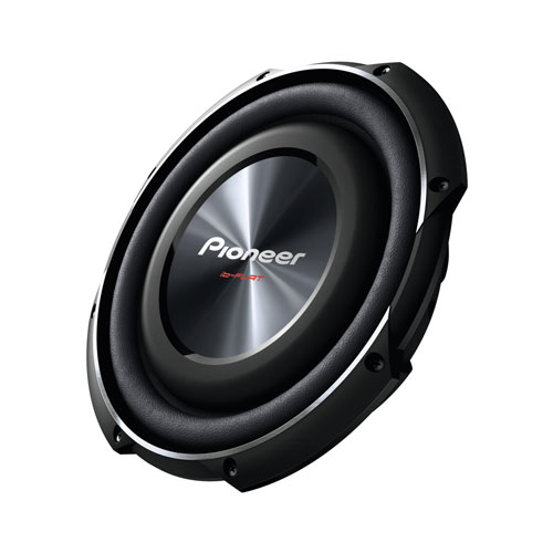 Pioneer TS-SW2502S4  25cm Shallow-type 4Ω Single Voice Coil Sub (1200W)